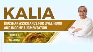 Odisha KALIA Scheme