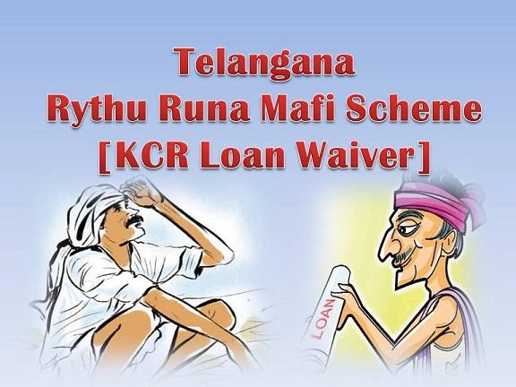 Rythu Runa MafiTelangana Crop loan waiver scheme