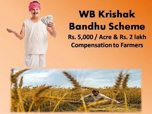 West Bengal Krishak Bandhu Scheme