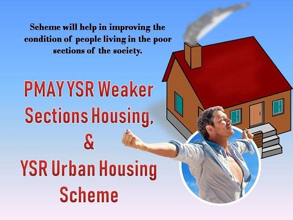 AP PMAY YSR Weaker Sections Housing Urban