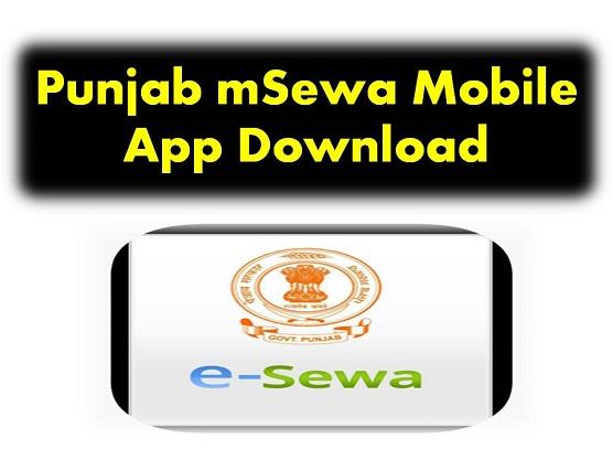 Punjab mSewa Mobile App Download
